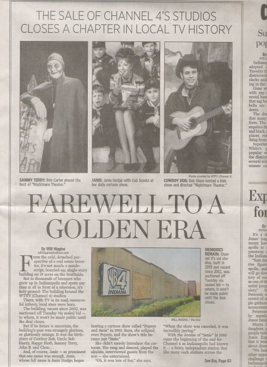 Newspaper Clipping, June 2007