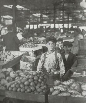 City Market Vendors (Historic Photos of Indianapolis)