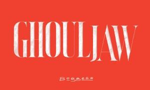 Ghouljaw - lettering, Boggess